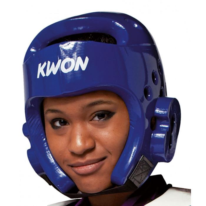 Шлем для тхэквондо Kwon WTF Blue р. M